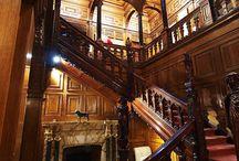 Staircase, entry/Sisääntulo, portaikko, aula