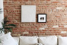 brick wall inside house