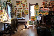 estudios de pintura