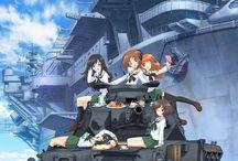 Anime - Girls Und Panzer