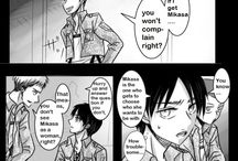 Comic Shingeki no Love