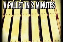 how to take a pallet apart in 2 minutes