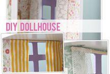 dollhouse ideas / by Kathleen Welch