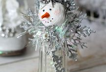 Christmas crafts! / if i had the time i would make them all!