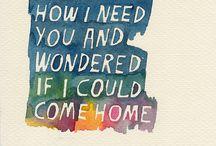 Music and Lyrics / by Ryanne Breckenridge