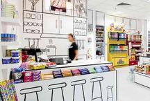 B&W Store Design