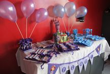 Candy Bar Monster Hi, Monster Ink, Princesa Sofía, Capitán Amercia / Candy Bar realizado por Orygami Invitaciones www.orygami.com.ar