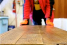 Eat Sleep Live - Workshop / Get an insight into the day in the life of a reclaimed wood workshop worker!