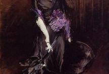 Romantiques et Impressionnistes / peintures du XIXème (et début du XXème)
