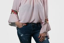 Made in Italy, Bluse, off-shoulder bluse, Rosa, cut-out Bluse, flower, Frühling