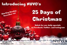 NUVO in December / We have some fun things happening at NUVO this month!