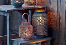 Outdoor lights - Moroccan look