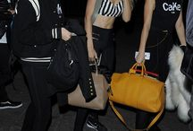 Cara, Gigi and Kendall.