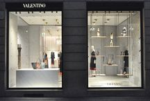 Windows on the world | Milan / Valentino unveils a special window installation for the Spring/Summer 2016 Collection in Milan Monte Napoleone boutique.
