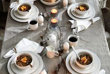 Soirees: Table & Place Settings / Tablescapes / by Asia | Sparrow Soirees