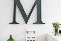 Typography Wall Decor