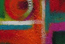 ABSTRACT ART / Abstract art by contemporary Arizona artist Lance Headlee. Original contemporary paintings available at http://lanceheadlee.com