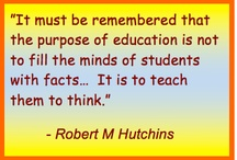 Quotes for Education / Here are a selection of my favorite quotes by educators