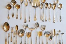 [ Forks, Knives & Spoons ] / There's something about cutlery that I'm strangely attracted to.  The older the better!