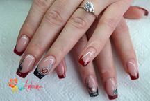 Gel nails 2015 / Fresh new gel nail inspirations for spring