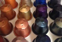 Gioielli aromatizzati / Gioielli artigianali  realizzati con materiale di riciclo per esempio capsule nespresso, sono tutti handmade, fatti a mano.