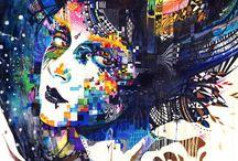 superpositions de collages
