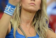 Greece Fans Girls