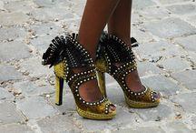 Sneaker stylin, high heel free flyin