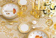 Table settings / by Harriet Swindell