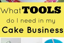 Tool Kit for Cakers & Bakers / Ultimate List: Tools You Need For a Cake Business (So That You Make More Money) Get your free Ultimate Tool List PDF here - http://angelfoods.net/tools