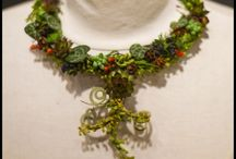 Botanical Couture - jewelry / selection of botanical jewelry that I have made