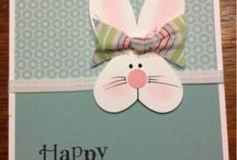 2014 Easter Cards Stampin up