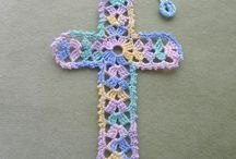 Crochet crosses