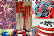 4th of July - Activities, Crafts & Desserts