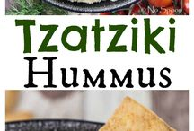 hummus, tahini, pesto, dressing...