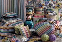 Pattern at Missoni Home / Lovely things for the home from Missoni, the iconic Italian fashion house. Missoni have built their reputation on their wonderful and intuitive use of colour.