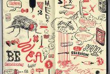 Doodle & sketchbooks