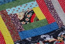 Our Log Cabin Quilts