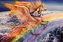 Josephine WALL / Artiste peintre Oil on Acrylique www.acooparts.com