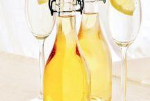 Säfte, Sirup und andere Getränke