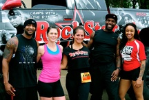 Places you can spot us / Events we do, support and participate in / by Rock Star Fitness Camps