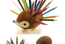 Criatividade... / Tudo criado com muita criatividade... / by Thais Alves Ferreira