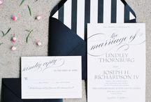 Classic B&W Wedding