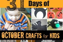Halloween/fall crafts / by Amanda Ottlinger