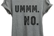 T-skjorte print