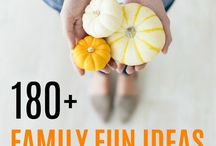 Fall Holiday Activities / This boards shares inspiration and you ideas for families to enjoy all the Fall holidays. Thanksgiving | Halloween | Fall Festivals