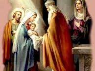 La presentación del Niño Jesús / LA PRESENTACIÓN DEL NIÑO EN EL TEMPLO (LC II, 21-38)  A los cuarenta días del nacimiento se cumplió el rito de la purificación de la Madre y presentación del Niño en el Templo de Jerusalén, conforme a la Ley Mosaica, mediante el ofrecimiento de un holocausto, que en el caso de Jesús, por la pobreza de sus padres, debió ser de una paloma o una tórtola.