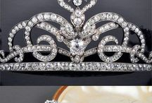 tiara and crown
