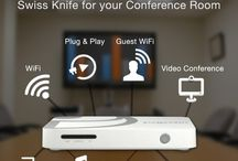 Meeting Room Device / Prijector is the best solution for medium and large conference rooms.? It is an effective video conferencing device which comes integrated with industry's best VC apps within. It is a professional wireless presentation device where it offers BYOD guest access and a great compatibility with almost all widely used OS platforms. Prijector supports Win, MAC, Android, Linux, Blackberry and Windows Phone too.