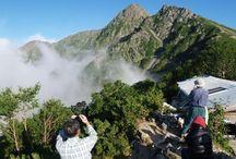 塩見岳(南アルプス)登山 / 塩見岳の絶景ポイント|南アルプス登山ルートガイド。Japan Alps mountain climbing route guide